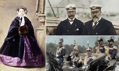 The King versus the Kaiser: Royal rift that saw George V and Tsar Nicholas line up against their German cousin in World War One revealed in stunning portraits