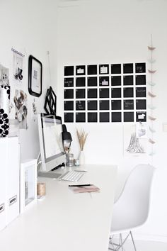 ♥ Now this wall ......should be in my office