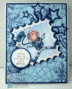Catch The Bug Challenge Blog: Freebie Friday: Astronaut rocket 2