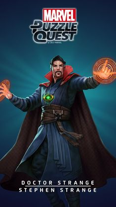 DOCTOR STRANGE (Stephen STRANGE) | 3 Stars | Profile Face | Marvel PUZZLE QUEST
