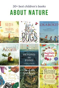 The best Children's Books about Nature Stories and resources to teach children about the environment, plants, weather, and how important their role is in nature is part of Nature kids - Best Children Books, Childrens Books, Toddler Books, Montessori, Nature Story, Nature Nature, Mother Nature, Good Books, Books To Read