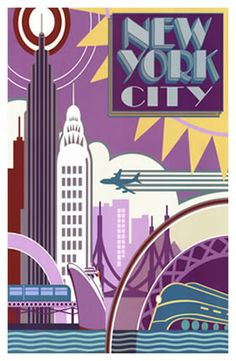 Vintage Travel Posters New York