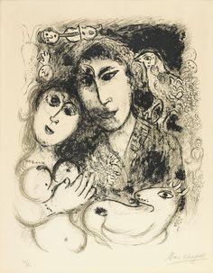 Marc Chagall, Lithograph.