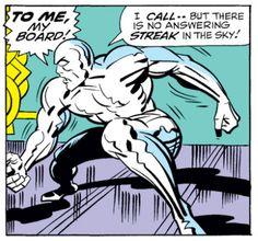 Silver Surfer #18, Jack Kirby, Silver Surfer, Marvel Comics