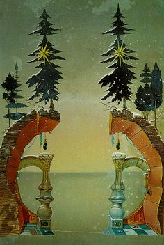 Christmas (Noel), 1946, Salvador Dali (1904–1989)