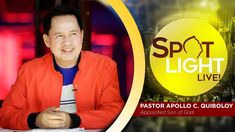 Watch another episode of Pastor Apollo C. Quiboloy's newest program, SPOTLIGHT. For your messages and queries, you can comment it down below so our Beloved P. Kingdom Of Heaven, Heaven On Earth, Disciple Me, Two Steps From Hell, T Lights, New Program, Son Of God, Music Publishing, Apollo