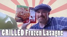 frozen lasagne on the weber kettle #grilling #BBQ #Deals #recipes #discounts #summer #foodie #food #recipe #free