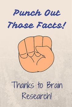 Elementary Matters: Punch Out Those Facts, Thanks to Brain Research! Includes several brain based hints for learning facts as well as a math fact freebie!