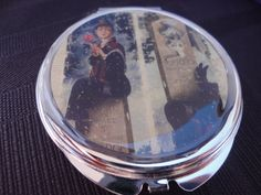 Haunted Mansion Disney stretching portrait compact by ImAsMADaSaHaTTeR, $15.00