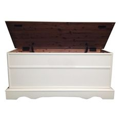 Bernards Oak Cedar Chest with Lid | Overstock.com Shopping - The Best Deals on Coffee, Sofa & End Tables