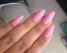 24 Press on Stiletto Nails matte stiletto nails by DesignsByYC