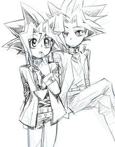 Yugi and Yami/Atem | Yu-Gi-Oh!