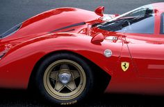 Ferrari 330 P4, one of the most beautiful racer of the late 60s, early 70s!  Beautiful, stunning lines.  Unequaled still!