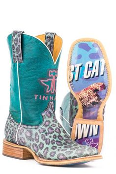 985d304b0bb Tin Haul Electric Kitty Boots Urban Western Wear and other apparel