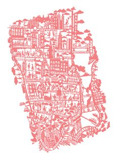 NYC Pink Map