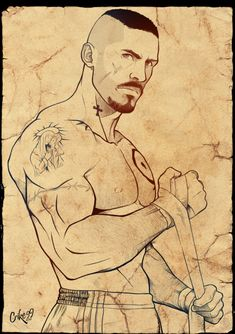 Easy Draw : BOYKA Sketch by on DeviantArt - Art & Drawing Community : Explore & Discover the best and the most inspiring Art & Drawings ideas & trends from all around the world Anatomy Sketches, Anatomy Drawing, Anatomy Art, Drawing Sketches, Drawing Art, Comic Kunst, Comic Art, Cool Art Drawings, Pencil Drawings