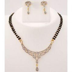http://www.craftsvilla.com/dazzling-mangalsutra-necklace-set.html