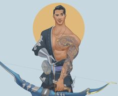 posted by david_ardinaryas_lojaya via instagram :   @stan_agrams is for Hanzo in real life