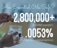 There are now over 3.2 million Doterra members.