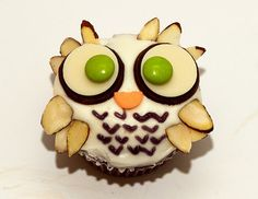 Owl Cupcakes | Flickr - Photo Sharing!