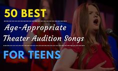 As a teen, it's important to choose an audition song that not only shows off your voice, but is also age-appropriate. Here, voice teacherMolly R.shares a few tips for selecting your song, p…