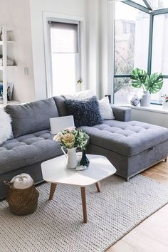 Small Living Room Sectional the Ultimate sofa for Small Spaces Home Design Ideas Small Living Room Layout, Design Living Room, Small Room Design, Living Room Grey, Small Living Rooms, Modern Living, Small Dining, Best Sectional Couches, Cool Couches