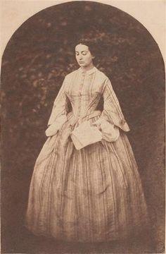 Portrait d'Adèle Hugo, Fille de Victor Hugo ~ (1830-1915) ~ Anonyme