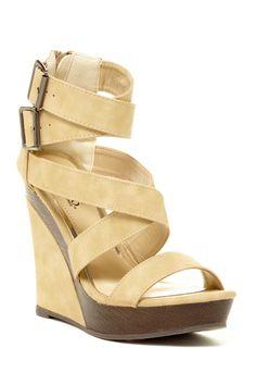 Litty Strappy Wedge Sandal by Bucco on @HauteLook