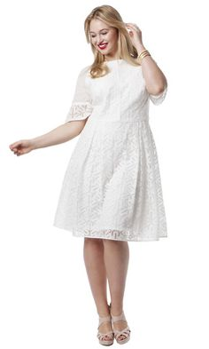 Plus Size Raglan Dress