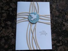 Sconebeker Stempelscheune - Stampin up Set : Taufkarte, Swirly Bird,