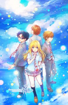 Your Lie in April, I finished this anime yesterday, I almost cried