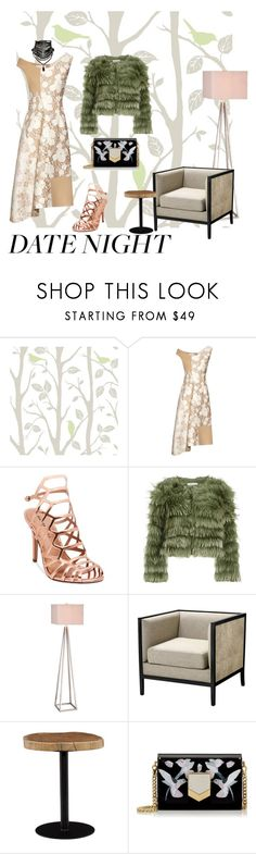 """""""scrap"""" by hbee-1234 ❤ liked on Polyvore featuring Wall Pops!, STELLA McCARTNEY, Madden Girl, Alice + Olivia, JAlexander, Eichholtz, Moe's Home Collection, Jimmy Choo and DateNight"""