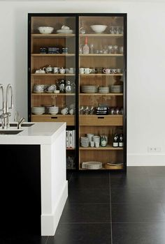 By finding inexpensive kitchen storage ideas, making things accessible, organizing by the type of items and getting rid of all the things you do not use, you may become the organization guru. For more ideas like this go to glamshelf.com #kitchens #kitchenorganization #kitchencabinets #kitchenstorageideas