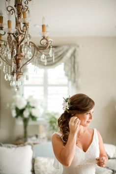 A Bride's Finishing Touches