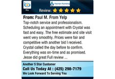 Top-notch service and professionalism. Scheduling an appointment with Crystal was fast and...