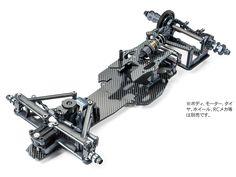 TRF102シャーシキット ブラックエディション