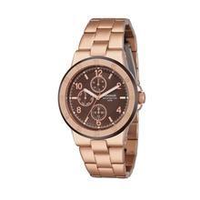 Relógio Seculus Feminino Fashion, Pulseira em Metal e Plástico, Caixa em Metal, Resistente a Água 50m - 20054LPSFRS1