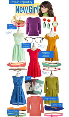 Lovely Undergrad: Wardrobe Inspiration from my Favorite TV Characters: New Girl's Jess