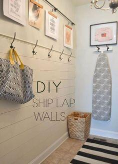 Modern Farmhouse Laundry Room Ideas (66)