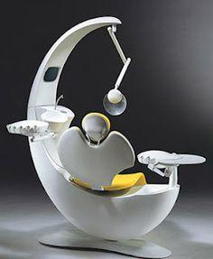 Futuristic denist chair?