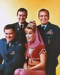 I Dream of Jeannie, Barbara Eden, Larry Hagman