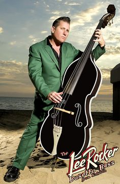 Lee Rocker & his double bass