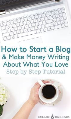 Blogging is a great way to supplement your main income! Find out how to start a blog and make money by writing about what you love.