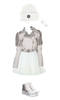 """2"" by abbey-ceee ❤ liked on Polyvore featuring Silver Spoon Attire, RED Valentino, Burberry, Moschino, women's clothing, women, female, woman, misses and juniors"