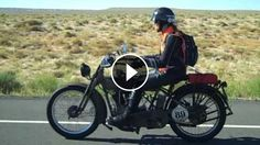 1915+Harley+&+1915+Indian+Motorcycles+at+Speed+-+Buzz+Kanter+of+American+Iron+Magazine+from+the+Motorcycle+Cannonball.+Buzz's+1915+Harley+is+broken+but+Cris+and