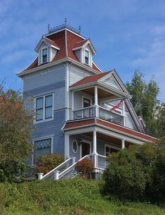Victorian house by finhead4ever