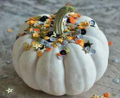 DIY Simple Sparkle Pumpkin   Whimseybox