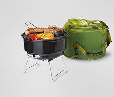 #Grillgut und #Grill super verstaut: #Picknick-Grillset für €29,95 bei #Tchibo