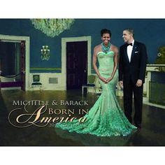 Michelle & Barack Obama Born in America 2013 Calendar [Wall Calendar] [Spiral-Bound]