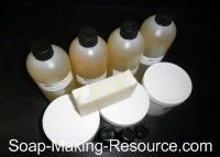 Insect Repellent Soap Recipe Kit